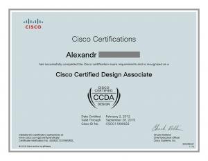 Cisco Certified CCDA