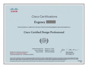 Cisco Certified CCDP