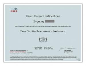 Cisco Certified CCIP