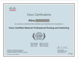 Alina-certificate-CCNP